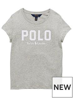 ralph-lauren-girls-short-sleeve-polo-t-shirt-grey