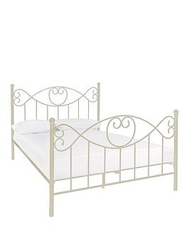 Juliette Bed Frame With Mattress Options (Buy And Save!) - Bed Frame With Airsprung Memory Foam Mattress