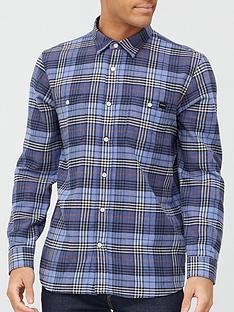 edwin-check-shirt-bluenbsp