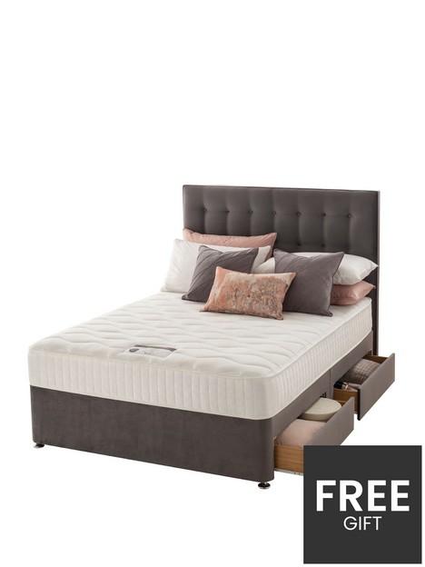 silentnight-mila-velvet-1000-pocket-memorynbspdivan-bed-withnbspheadboard-and-storage-options