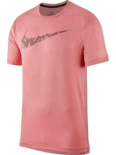 nike-dry-short-sleeve-top-pink
