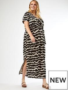 dorothy-perkins-curve-wrap-maxi-ikat-print-dress