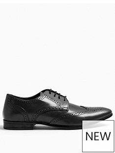 topman-bedd-leather-brogues-black
