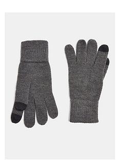 topman-touch-screen-gloves-charcoalnbsp