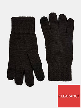 topman-touch-screen-gloves-black