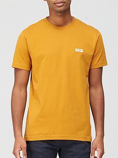 nudie-jeans-daniel-logo-t-shirt-yellow