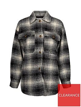 sofie-schnoor-checked-shirt-jacket-multi