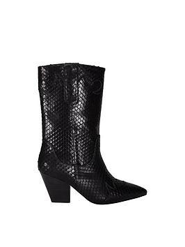 Sofie Schnoor Cowboy Boots - Black