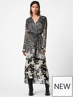 allsaints-florence-tempo-floral-print-midi-dress-black