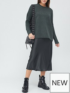 allsaints-darla-two-in-one-midi-dress-green