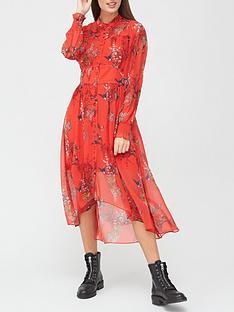 allsaints-leonie-melisma-phoenix-print-midi-dress-red