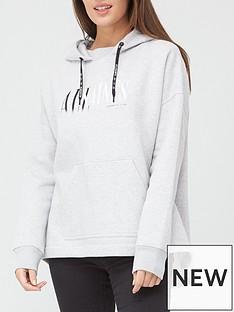 allsaints-etienne-logo-hoody-grey
