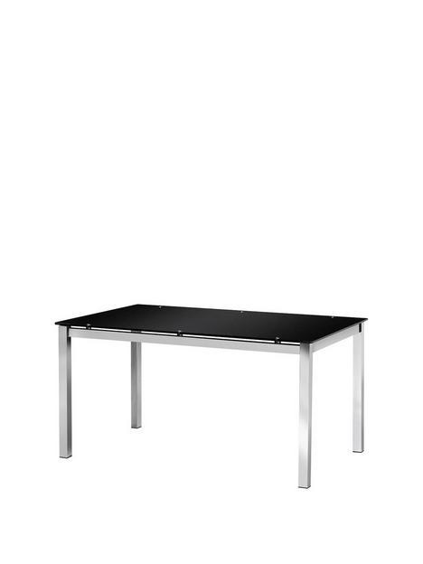 julian-bowen-tempo-glass-dining-table