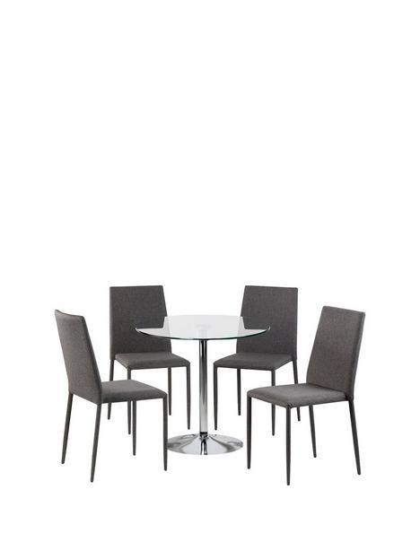 julian-bowen-kudos-80-cm-round-diningnbsptablenbspnbsp4-jazznbspchairs-glassgrey
