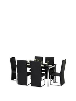 julian-bowen-set-of-tempo-table-6-tempo-chairs