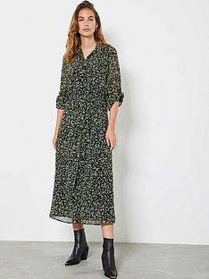 mint-velvet-brooke-floral-print-midi-shirt-dress-black