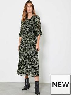 mint-velvet-brooke-floral-print-midi-shirt-dress-black