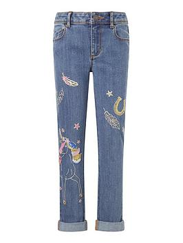 monsoon-girls-unicorn-embroidered-jean-blue