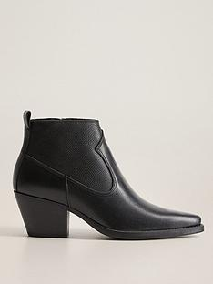 mango-leather-cowboy-ankle-boot-black