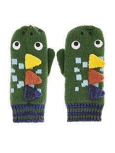 monsoon-boys-roar-dinosaur-novelty-mittens-green