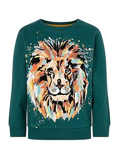 monsoon-boys-lion-sweatshirt-green