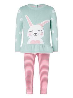monsoon-baby-girls-bunny-knit-top-and-legging-set-aqua