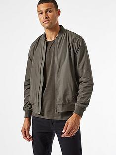 burton-menswear-london-core-bomber-jacket--nbspkhaki