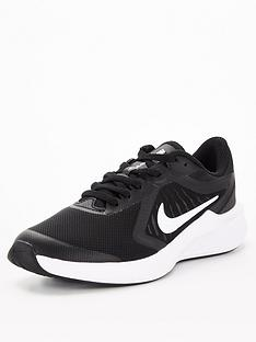 nike-downshifter-10-childrens-trainers-blackwhite