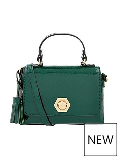 accessorize-patent-handheld-mini-bag-green