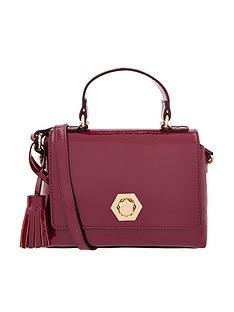 accessorize-patent-handheld-mininbspbag-burgundy