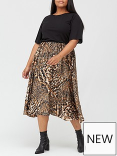 ax-paris-curve-two-in-one-dress-print