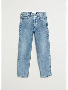 mango-premium-washed-straight-leg-jeans-blue