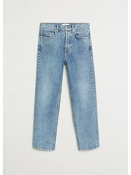 mango-premium-washed-straight-leg-jeans-blue