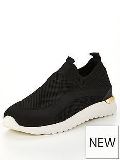 v-by-very-alice-slip-on-knit-trainers-black