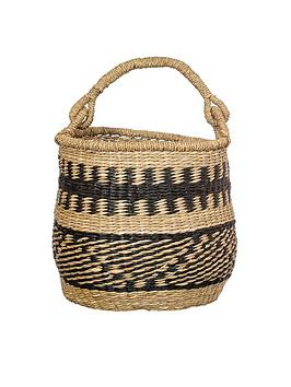 sass-belle-seagrass-round-basket-with-handle