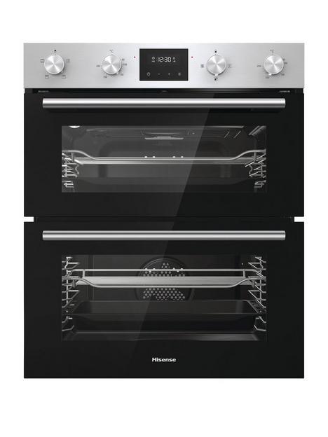 hisense-bid75211xuk-60cm-built-under-double-oven-stainless-steel