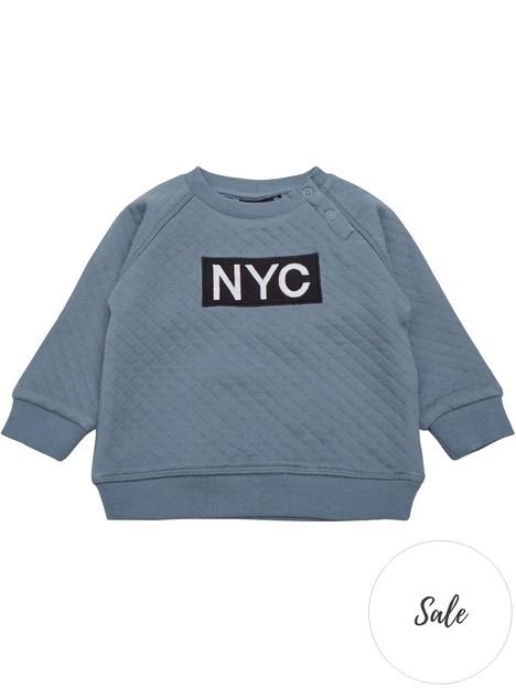 sofie-schnoor-baby-boys-nyc-sweatshirt--nbspblue