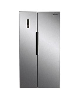 Candy Chsbsv 5172Xk American Style Fridge Freezer - Stainless Steel Best Price, Cheapest Prices