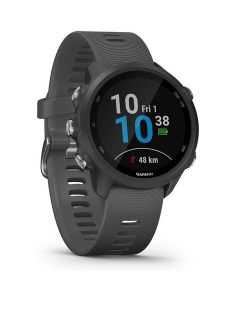 garmin-forerunner-245-gps-running-smartwatch-with-advanced-training-features-grey