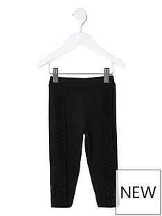 river-island-mini-mini-girls-frill-front-legging--black