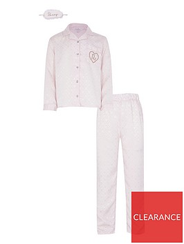 river-island-girls-satin-pyjama-set-and-eye-mask--nbsppink