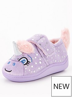 v-by-very-unicorn-slipper-lilac