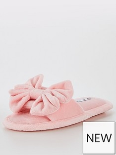 v-by-very-girls-bow-slider-slipper