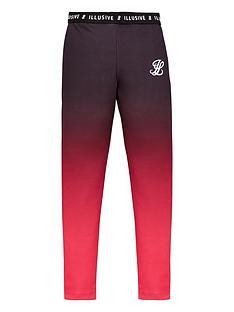 illusive-london-girls-fade-leggings-pink