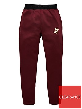 illusive-london-boys-agility-joggers-burgundy