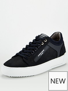 android-homme-venice-embossed-logo-trainers-navy