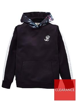 illusive-london-boys-dark-tropical-overhead-hoodie-navy
