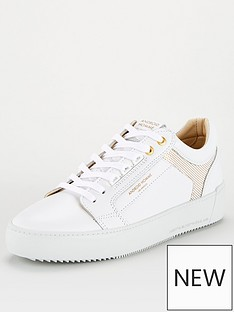 android-homme-venice-embossed-logo-trainers-white