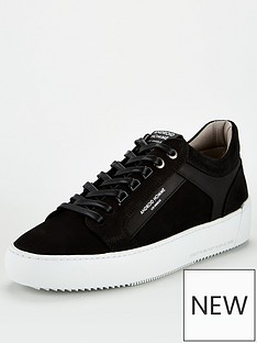 android-homme-venice-embossed-logo-trainers-black