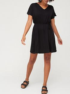 v-by-very-kimono-sleeve-jersey-cover-up-black